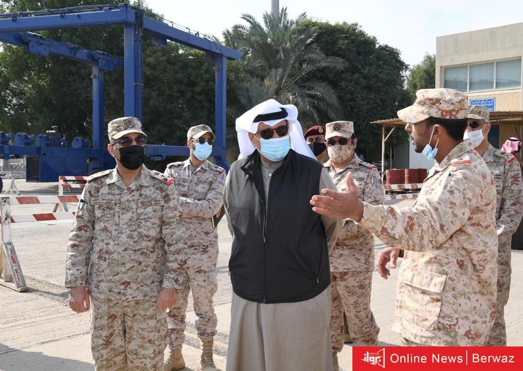 ErSQG6yXUAIr vE - الشيخ حمد العلي في زيارة تفقدية لقاعدة محمد الأحمد البحرية