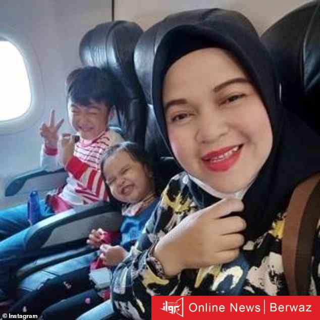 image 2 - كيف أبكت العالم كلماتها الأخيرة.. رسالة أم وأطفالها من الطائرة الإندونيسية المنكوبة