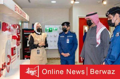 أنس الصالح 2 400x264 - جولة تفقدية لنائب رئيس مجلس الوزراء إلى مقر قطاع الوقاية الرئيسى