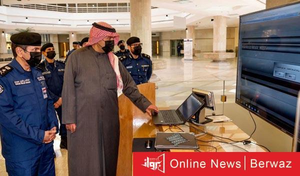 أنس الصالح - جولة تفقدية لنائب رئيس مجلس الوزراء إلى مقر قطاع الوقاية الرئيسى