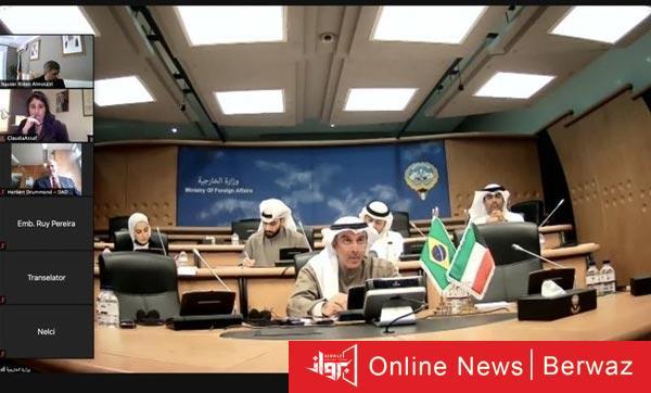 إجتماع وزراء خارجية الكويت والبرازيل - إجتماع وزراء خارجية الكويت والبرازيل لبحث العلاقات بين البلدين