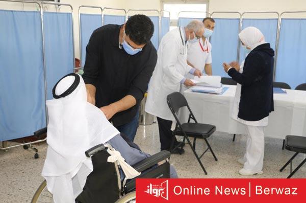 التطعيم لنزلاء مراكز رعاية المعاقين - إنطلاق حملة التطعيم لنزلاء مراكز رعاية المعاقين والمسنين