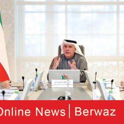زيارة الشيخ حمد الجابر لهيئة الخدمات الطبية بوزارة الدفاع
