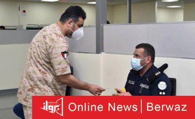 في مستشفى جابر الأحمد للقوات المسلحة2 400x246 - انطلاق عملية التطعيم في مستشفى جابر الأحمد للقوات المسلحة