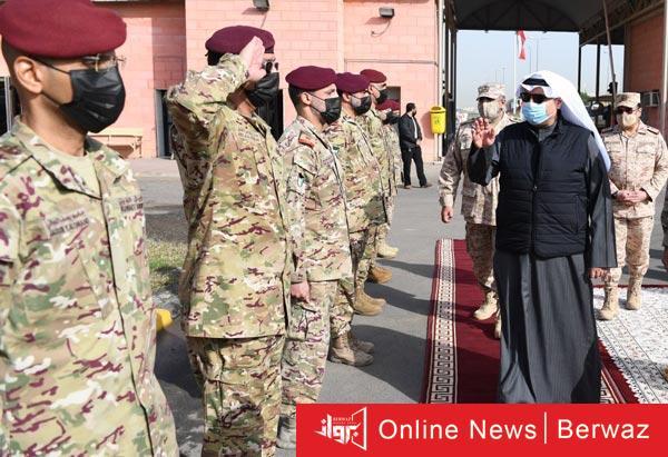 وزير الدفاع - وزير الدفاع يقوم بزيارة تفقدية لهيئة الحرس الأميرى