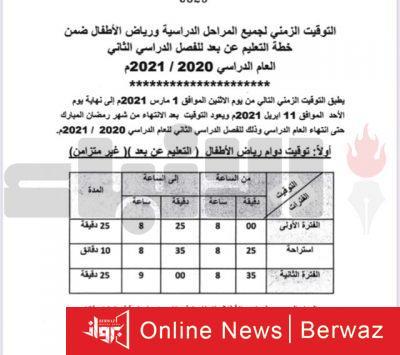 1 3 400x355 - بالأرقام التوقيت الجديد للدوام المدرسي في الفصل الثاني طبقا لـقرار «التربية»