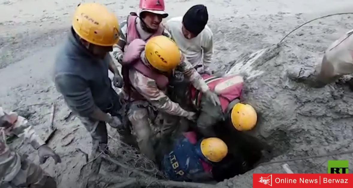 60201f794236046a4901a884 - إنهيار جليدي يقتل 12 هندي وجار البحث عن أكثر من 170 مفقود