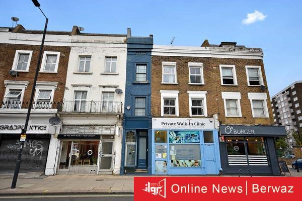 London Skinny House - أضيق منزل في لندن يعرض للبيع مقابل 1.3 مليون دولار