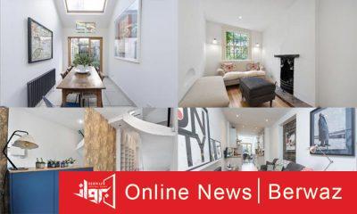 London Skinny House3 400x240 - أضيق منزل في لندن يعرض للبيع مقابل 1.3 مليون دولار