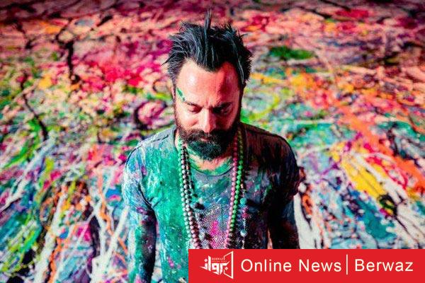Sasha jefry - رسام بريطانى يدخل موسوعة جينيس برسم أكبر لوحة فنية فى دبى