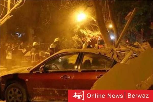 image 9 - مصرع  4 أشخاص في انهيار مبنى بالقاهرة
