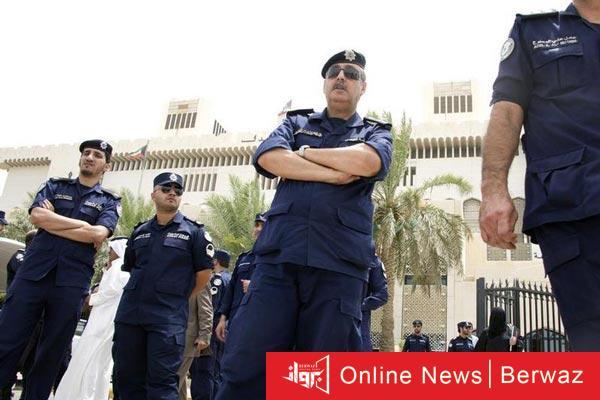 kuwait policemen - الداخلية ترفع حالة الاستعداد لمنع التجمعات بمناسبة الأعياد الوطنية