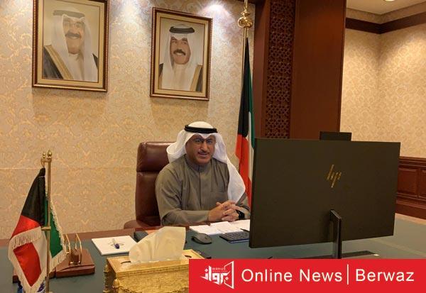 الدكتور محمد الفارس وزير النفط - إنطلاق أعمال إجتماعات أوبك + برئاسة وزير النفط للوفد الكويتى
