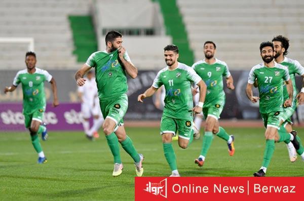 العربى يهزم الفحيحل - العربى يهزم الفحيحيل بصعوبة ليحتل صدارة دورى الكويت لكرة القدم