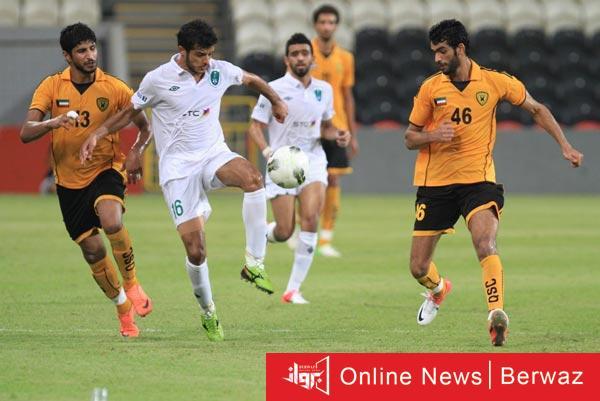 القادسية والكويت - تعادل القادسية والكويت في قمة الجولة السابعة من الدوري الكويتى