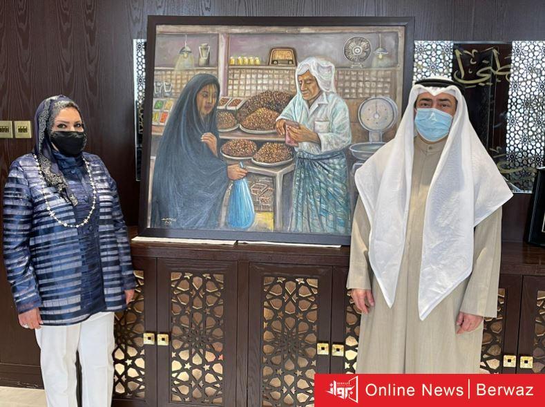 بيس - العبدالجليل : ندعم جهود الإرتقاء بالفن التشكيلي وفعالياته