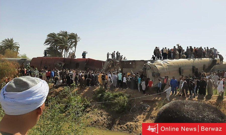 تصادم قطاري مصر