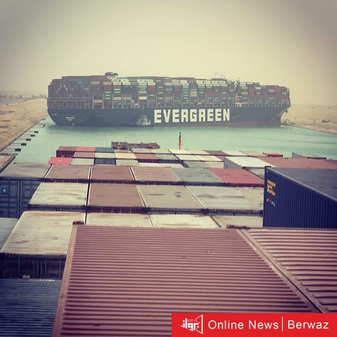 ExfSvqjXMAYdf a - مصر واصفة جنوح السفينة العملاقة بقناة السويس: حادث استثنائي وتوجد إدارة كاملة للتعامل مع مثل هذه السفن