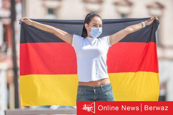German Flag - ألمانيا تدخل الموجة الثالثة من جائحة فيروس كورونا