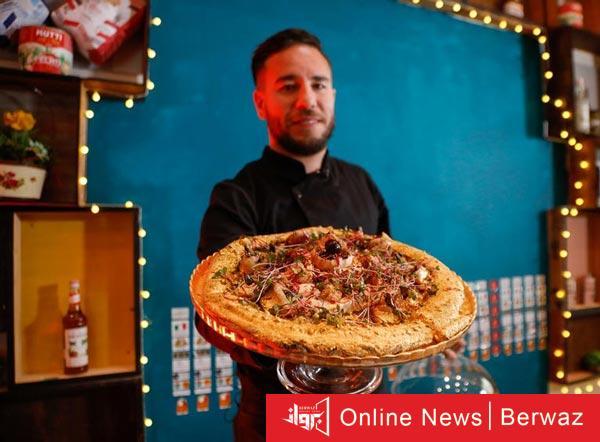Golden pizza - مطعم يقدم أغلى بيتزا فى إفريقيا مصنوعة من الذهب عيار 24