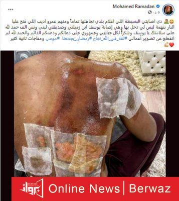 Mohamed Ramadan2 357x400 - مشادة بين محمد رمضان و عمرو أديب بسبب حادث القنبلة