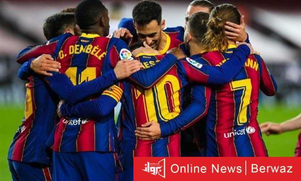 barcelona 1 - برشلونة يتخطى ويسكا برباعية ويهدد صدارة أتليتكو للدورى
