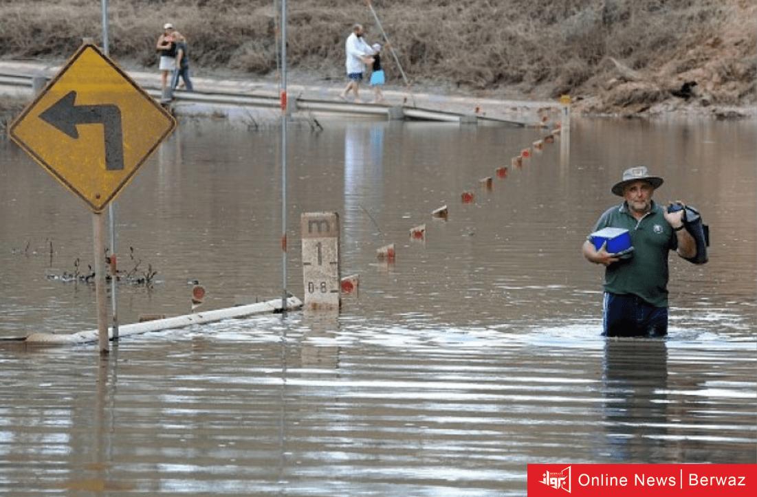 image 2 1 - أجلاء جماعي للسكان في أستراليا بسبب أسوأ فيضانات تمر بها منذ نصف قرن