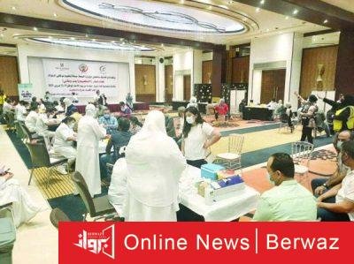 تطعيم موظفى البنوك 400x299 - نادى المصارف الكويتى ينظم حملة تطعيم واسعة لموظفى البنوك