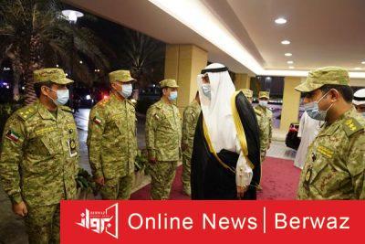 رئيس الوزراء يزور الحرس الوطني2 400x267 - رئيس مجلس الوزراء يقوم بزيارة إلى الرئاسة العامة للحرس الوطني