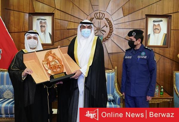 رئيس الوزراء يزور قوة الإطفاء2 - سمو رئيس مجلس الوزراء يزور رئاسة قوة الإطفاء العام الكويتية