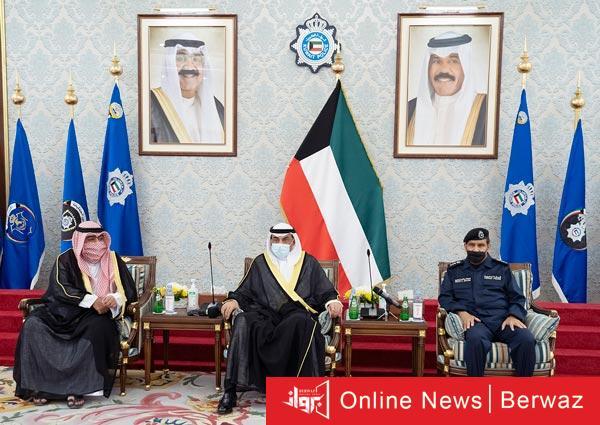 رئيس الوزراء يزور وزارة الداخلية - رئيس مجلس الوزراء يزور مبنى نواف الأحمد بوزارة الداخلية