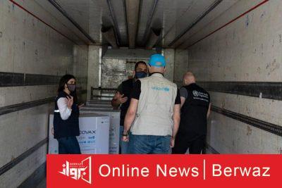 سويا شحنة من لقاحات كوفيد 400x267 - سوريا تتلقى أول شحنة من لقاحات كورونا من خلال منظومة كوفاكس