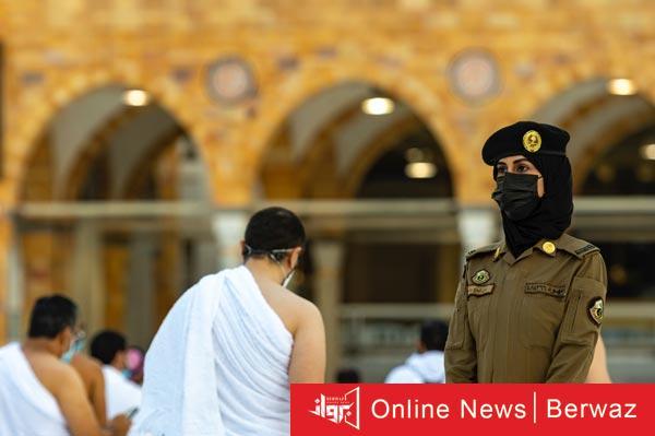 سيدات أمن بالحرم - السعودية تعين لأول مرة سيدات أمن بالحرم المكى الشريف