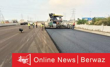 1039618 1 - بمساعدة 96 سيارة.. «الطرق» تنتهي من فرش 16.8 ألف م2 من الأسفلت في طريق النويصيب