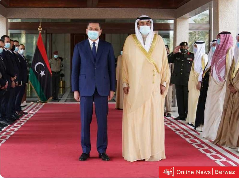 IMG 20210407 WA0001 - رئيس حكومة الوحدة الوطنية الليبية في ضيافة سمو الشيخ صباح خالد