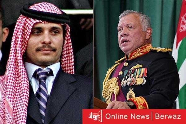 King abdulla and hamza - الأردن تعلن سيطرتها الكاملة على الأوضاع الأمنية فى البلاد