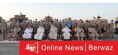 زيارة رئيس مجلس الوزراء القوة البرية 400x186 - زيارة رئيس مجلس الوزراء إلى مقر القوة البرية الكويتية الشمالية