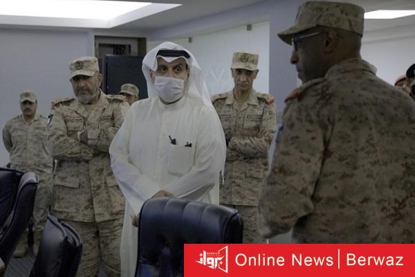 وزير الدفاع فى هيئة العمليات والخطط - زيارة تفقدية لوزير الدفاع الكويتى إلى مقر هيئة العمليات والخطط