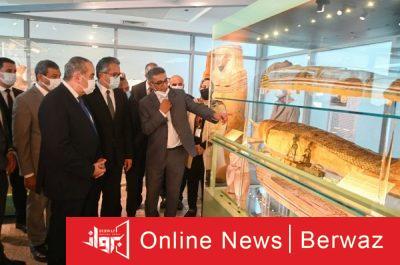 E1v6ih9XsAI4lAk 400x265 - افتتاح متحفين جديدين بمطار القاهرة احتفالًا باليوم العالمي للمتاحف
