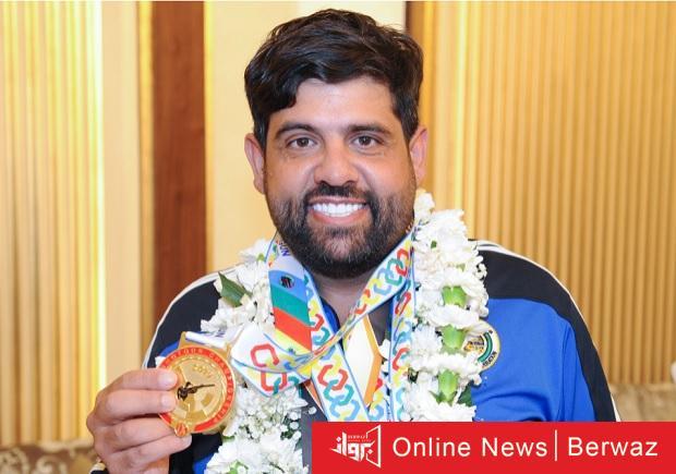 الكويتي ناصر المقلد - الكويت تحقق 3 ميداليات بمسابقة الجائزة الكبرى فى البطولة العربية للرماية
