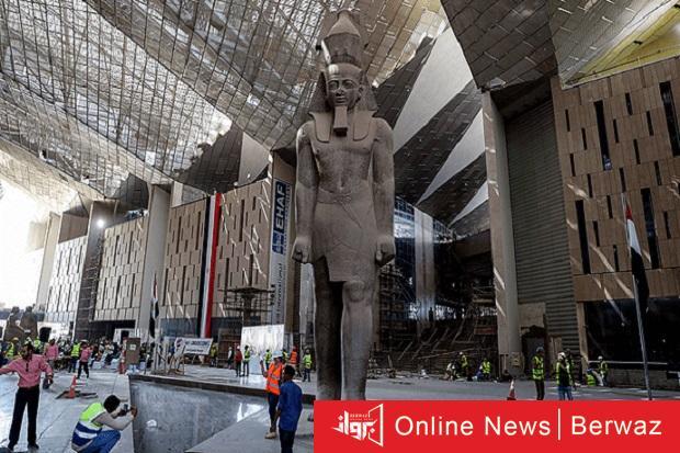المصرى الكبير - مصر تستعد قريباً لإفتتاح أضخم متحف بالشرق الأوسط