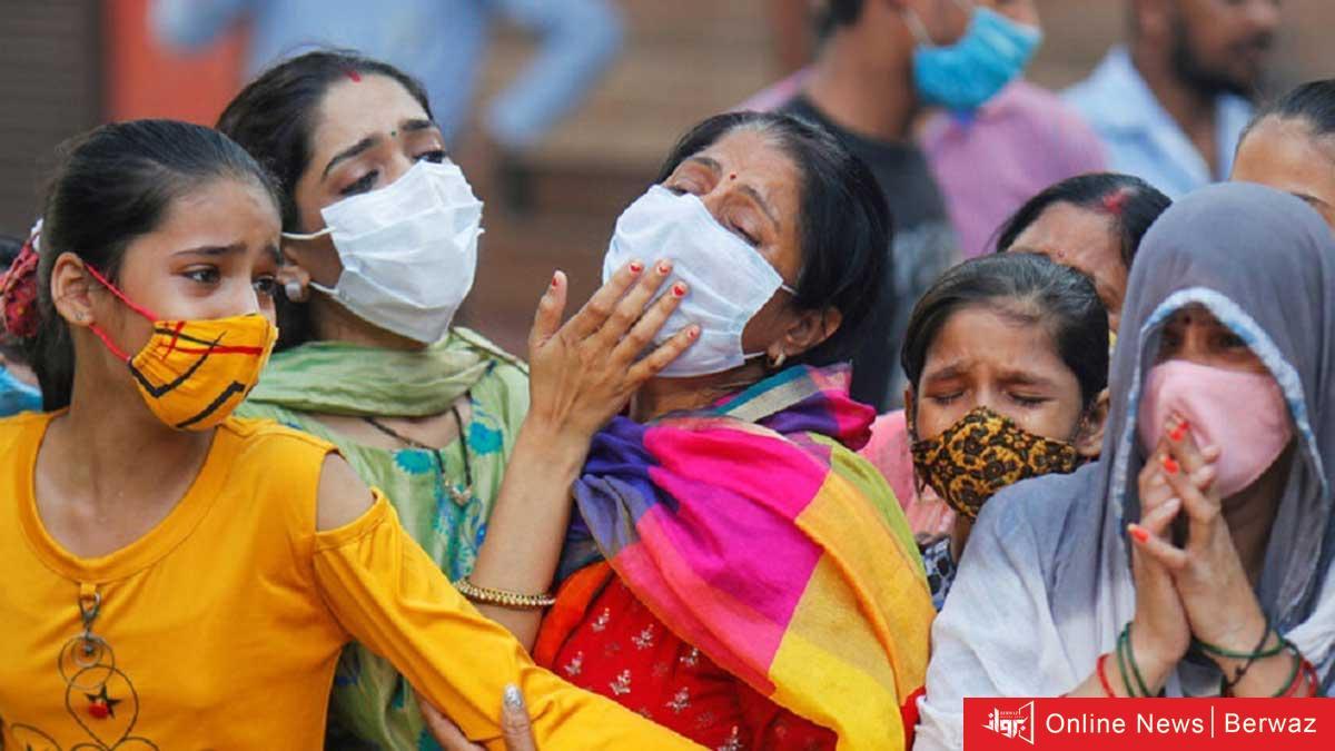 image 3 - رقم قياسي جديد في وفيات كورونا بالهند تسجله في يوم واحد