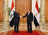 السيسي وعبد المهدي يعقدان مباحثات ثنائية في القاهرة