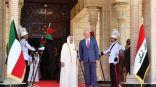 زيارة سمو الأمير الرسمية الأولى الى العراق تتزامن مع الذكرى 58 لاستقلال الكويت