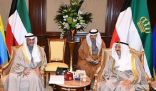 سمو الأمير يستقبل أعضاء وفد المجلس المشارك في المؤتمر الـ 29 للاتحاد البرلماني العربي