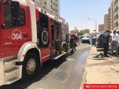 خسائر مادية في اندلاع حريق لأسباب غامضة في الفروانية