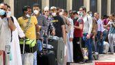 زيادة اصابات الكورونا في مناطق سكن الوافدين