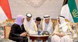 سمو الأمير يعقد مباحثات رسمية مع رئيسة سنغافورة