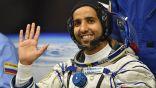 رائد الفضاء الإماراتي هزاع المنصوري ينشر صورته بالزي الوطني من الفضاء
