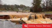 أمريكا تعلن مصرع 7 أفراد وجار حصر ضحايا السيول في نورث كارولاينا